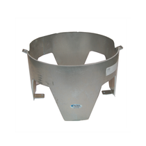 Safely secure your commercial trash can with the In The Ditch Aluminum Wrecker Trash Can Mount. Made in the USA, this mount is easily installed, lightweight and durable.  - 6 gal.  - Constructed from 1/8 in. aluminum  - Weight: 5 lbs. | OEM Part Number: ITD1054