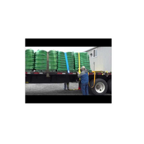 Commonly used with open deck trailers for heavy haul.