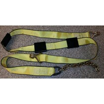 Ensure a car stays in place on a flatbed or hauler with this B/A Products Wheel Strap. It comes with 1' of chain and three tire grips to support stability during transport.