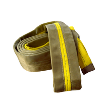Features:  Heavy Duty Polyester Double Ply, 2-Ply Enforeced Webbing Lined Eyes for Superior Wear Protection Weather Resistant SewnProtective Cover    MeasurementsWorking Load Limits    Type Length Width Eye Width Vertical Choker Basket