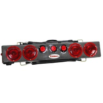 "This amazing, easy to install 36"" Wireless Tow Light provides stop, tail, and turn with side marker lights and three DOT center lights."