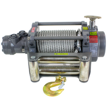 Compact, tough. A hydraulic winch for industrial and commercial applications. The unique patented steel gearing system combined with a highly efficient and powerful hydraulic motor ensures maximum performance over the full load range. Complete with internal brake to ensure maximum control and load holding. Stainless steel roller fairleads and fittings are standard.