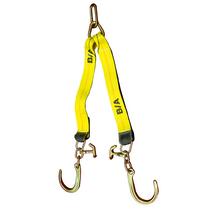 24 in. Low Profile V-Strap w/8 in. J Hooks & T/J Hammerheads | BA Products