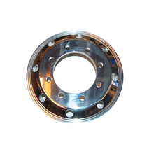 Choose these machine-finished polished Alcoa Aluminum wheels for strength and appearance. This hub pilot-type wheels has eight holes to fit larger trucks.