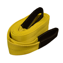 "This 2-Ply Recovery Sling by ECTTS is ideal for providing stability and power during vehicle recovery. The extra thickness reinforces the strength and durability of the product against heavy loads over long periods of time, so it's suitable for all weather conditions.  - Dimensions: 6"" x 20'"