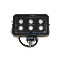 """A Maxxima 1550 Lumen Work Light will brighten up any job. It's compact construction allows for portability and easy use and the stainless steel bolt and bracket makes it easy to install.  - Dimensions: 6.2"""" x 3.8"""" x 1.8""""  - Amp Draw: 1.5A 12V .52MA 36V  - 12-36 VDC Multi-voltage 