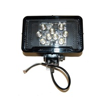 9 LED Rectangular Work Light | Maxxima 500 Lumens