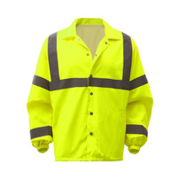 Hi-Vis Safety Economy Windbreaker (Coaches Jacket) Class 3