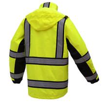 Onyx 3-in-1 Lime Waterproof Ripstop Parka Jacket