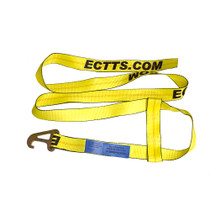 10 ft. Quick Pick Wheel Strap w/ 2 in. Flat Hook | ECTTS