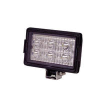 """Get brighter illumination with this Maxxima Work Light. Part of the Special Performance series, it features six Philips Lumileds LUXEON T LEDs in a rectangular format that produce 1,200 lumens of output and has a sturdy stainless steel bracket to keep it in place.  - Dimensions: 6.3"""" x 3.9"""" x 1.8"""""""