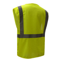 GSS Class 2 Mesh Zip Vest w/ID Pocket, Lime