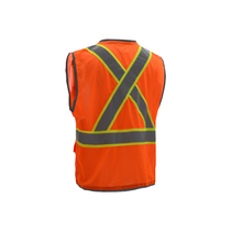 GSS Class 2 Hyper-Lite, X Back, Vest, Orange