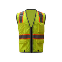 GSS Class Hyper-Lite Safety Vest, Lime