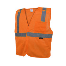 GSS Economy Class 2, 5 Point Breakaway Vest, Orange