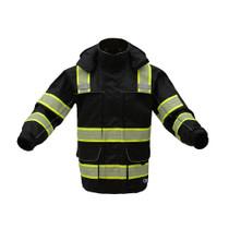 GSS ONYX C3 Ripstop Rain Jacket, Black