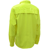 GSS ONYX Non-ANSI Button Down Shirt, Lime
