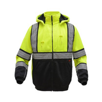 GSS ONYX Class 3 Heavy Winter Sweatshirt, Lime