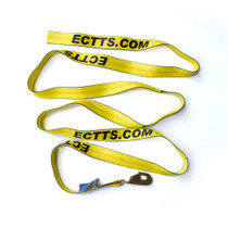 "ECTTS Strap 2"" x 14' with Twisted Snap Hook"