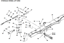 LINK WELD L-ARM NO-LUBE HYD FIXED GRID  | Jerr-Dan