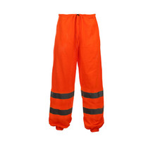 CLASS E STANDARD MESH PANTS ORANGE  GSS | OEM Part Number: 3804 100% Polyester Mesh Pant 2 Upper Slash Through Pockets Certification: ANSI/ISEA 107-2015 Class E