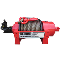 Small and durable, the JP series are heavy duty hydraulic winches designed and tested for the toughest applications. Manufactured to meet GJB82-86 National Military Standard.