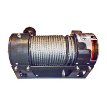 Warrior's Viking Hydraulic Worm Gear Winches offer the ultimate in precision and control. The worm gear's heavy duty industrial design provides excellent loadreversing protection. Hydraulic Worm Gear winches are designed with fewer moving parts (worm and gear) and provide greater handling of shock loads as well as fewer wear points.