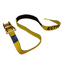 "Underlift Tie-Down Straps will give you a secure tie-down and help you avoid damage that is commonly associated with chain straps. These 2"" wide tie-downs are 76"" long and come with ratchets and protective sleeves."