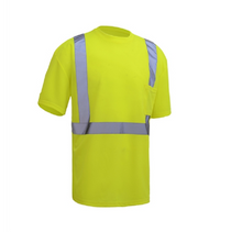 Hi-Vis Short Sleeve Shirt, Lime | Hi-Vis Class 2