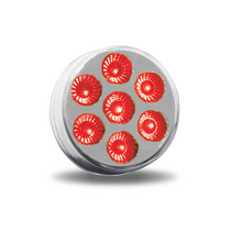 "7 Diode LED | 2.5"" Dual Revolution, Red/White"