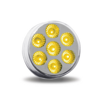 "7 Diode LED | 2"", Clear Amber"