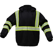 Hi-Vis ONYX Heavy Winter Sweatshirt | Black