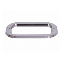 Maxxima - Plastic Chrome Rectangular Grommet Cover | 4 x 6
