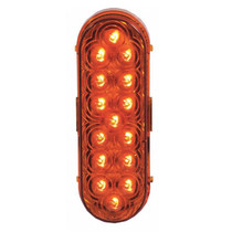 15 LED Oval Park/Turn Light, 6 3/8 in. Amber | Maxxima