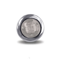 3/4 in. Dual Revolution Amber/White Marker LED | Mini-Button
