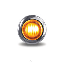 3/4 in. Dual Revolution Amber/White Marker LED | Mini-Button