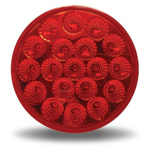 4 in. Red S/T/T Light | 19 LED