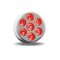 2 in. Red/White Dual Revolution Auxiliary Light | 7 LED