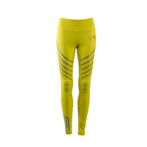 Womens Yellow Reflective Leggings | by Safety4Her