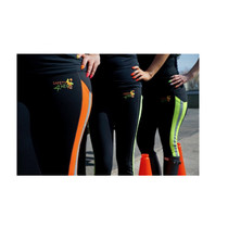 S4H - Hi Visibility Orange Track Leggings