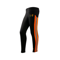 Womens Hi Vis Orange Track Leggings | by Safety4Her