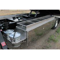 48 in. x 16 in. Aluminum Box Top Tray | In The Ditch