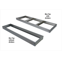 60 in. x 16 in. Aluminum Box Top Tray | In The Ditch