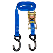 1 in. x 8 ft. Ratchet Strap w/S Hooks