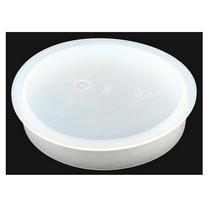 Barrel Plug 3.35 DIA Poly, White | Jerr-Dan PN 1001151789