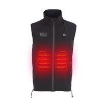 Heated Vest Liner (Black) with Power Bank | Trux