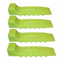 Neon Green Interlocking Skate (Set of 4) | WreckMaster