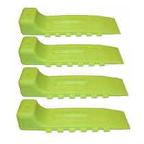 Neon Green Interlocking Skate (Set of 4) | WreckMaster