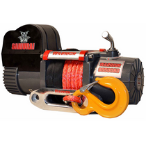 9,500 LB Short Drum Samurai Series Winch (Synthetic Rope) | DK2