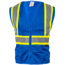 Enhanced Visibility Vest, Blue | GSS